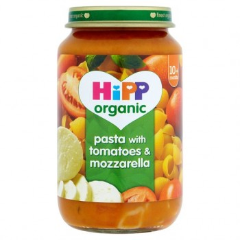 Hipp 10 Month Organic Pasta With Tomatoes And Mozzarella 220G