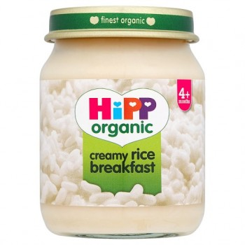 Hipp 4 Month Organic Creamy Rice Breakfast 125G