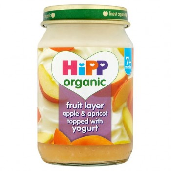 Hipp 7 Month Organic Fruit Duet Apple And Apricot 160G