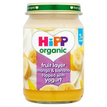 Hipp 7 Month Organic Fruit Duet Mango And Banana 160G