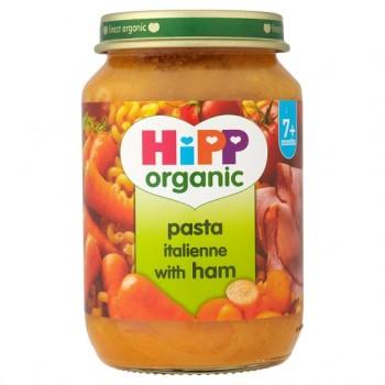 Hipp 7 Month Organic Pasta Italienne With Ham 190G