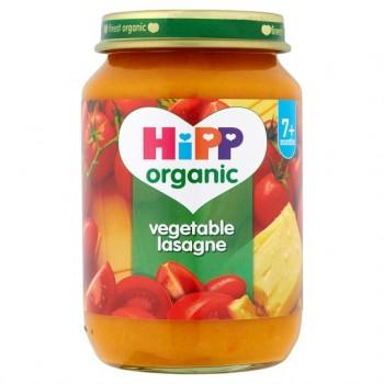 Hipp 7 Month Organic Vegetable Lasagne 190G Jar