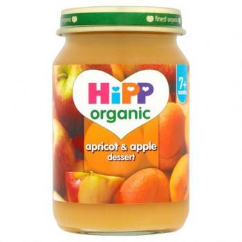 Hipp Organic Apricot And Apple Dessert 160G