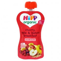 Hipp Organic Cherry Apple Banana Breakfast 6M+ 100G
