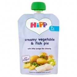 Hipp Organic Creamy Vegetable And Fish Pie 7M+ 130G