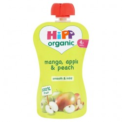 Hipp Organic Mango, Apple And Peach 100G