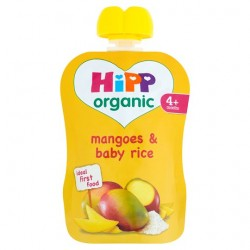 Hipp Organic Mangoes And Baby Rice 4M+ 70G