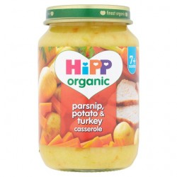 Hipp Organic ParsNip, Potato And Turkey Casserole 190G