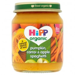 Hipp Organic Pumpkin Carrot And Apple Spaghetti 6M+ 125G