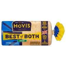 Hovis Best Of Both Thick White Bread 750G