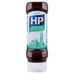 Hp Reduced Sugar And Salt Brown Sauce 450G