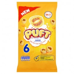 Hula Hoops Puft Cheese 6X15g
