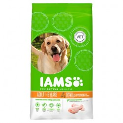 Iams Dog Food Adult Light 3Kg