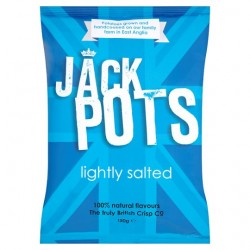 Jack Pots Lightly Salted Crisps 150G