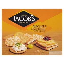 Jacobs Biscuits For Cheese 250G