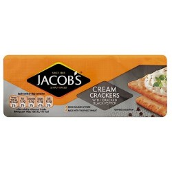 Jacobs Black Pepper Cracker 200G