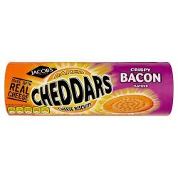 Jacob's Crispy Baked Cheddars Cripsy Bacon150g