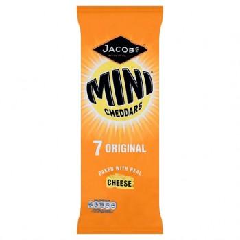 Jacobs Mini Cheddars Original 7X25g
