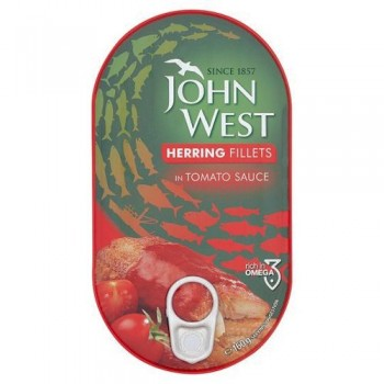 John West Herrings Tomato 160G