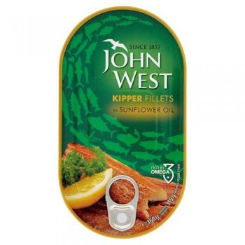 John West Kippers Oil 160G