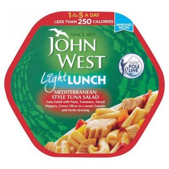 John West Light Lunch Mediterranean 220G