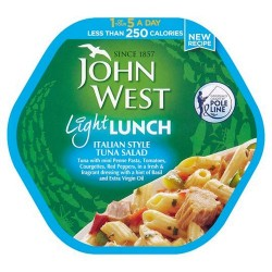 John West Tuna Italian Light Lunch 220G