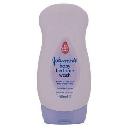 Johnsons Baby Bedtime Massaging Wash 400Ml