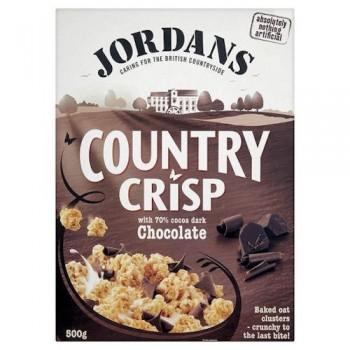 Jordans Country Crisp Chocolate 500G