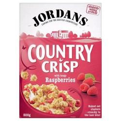 Jordans Country Crisp Raspberry 500G