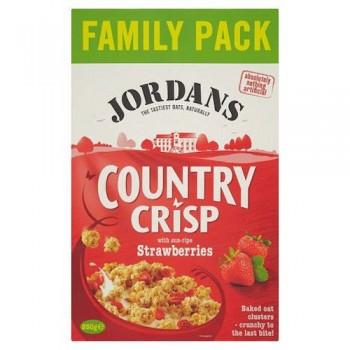 Jordans Country Crisp Strawberry 850G