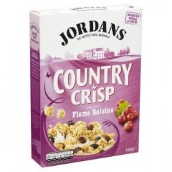 Jordans Country Crisp With Luxury Raisins 500G