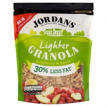 Jordans Raspberry And Apple Lighter Granola 550G