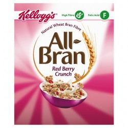 Kelloggs All Bran Crunch Cereal 340G