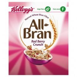 Kelloggs All Bran Crunch Cereal 340G