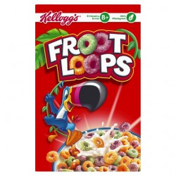 Kelloggs Froot Loops Cereal 350G