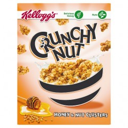 Kelloggs Honey And Nut Clusters 450G