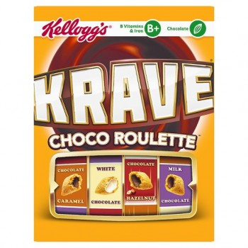 Kelloggs Krave Choco Roulette 375G