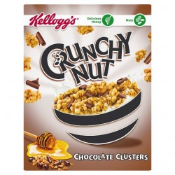 Kelloggs Nut Clusters Chocolate Curls 450G