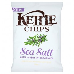 Kettle Chips Salt With Hint Of Rosemary 150G