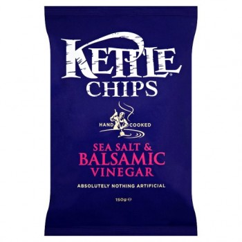 Kettle Chips Sea Salt And Balsamic Vinegar 150G