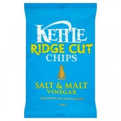 Kettle Ridge Chips Slt& Malt Vinegar 150G