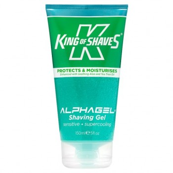 King Of Shaves Alphagel Menthol Shave Gel 150Ml
