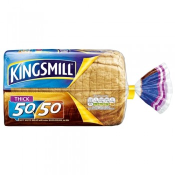 Kingsmill 50 50 Thick Bread 800G