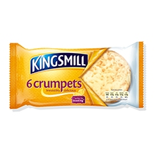 Kingsmill Scrumptious Crumpets 6 Pack