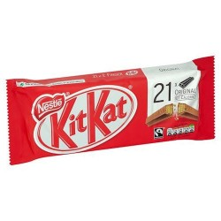 Kit Kat 2 Finger Milk Chocolate Biscuit 21 Pack 436.8G