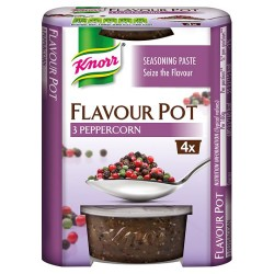 Knorr 3 Pepper Corn Flavour Pot 4 X 23G