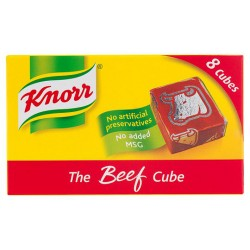 Knorr Beef 8 Stock Cubes 80G