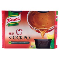 Knorr Beef Stock Pot 8 X 28G