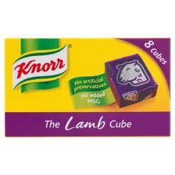 Knorr Lamb Stock Cubes 8 X 10G