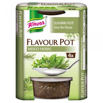 Knorr Mixed Herbs Flavour Pot 4 X 23G
